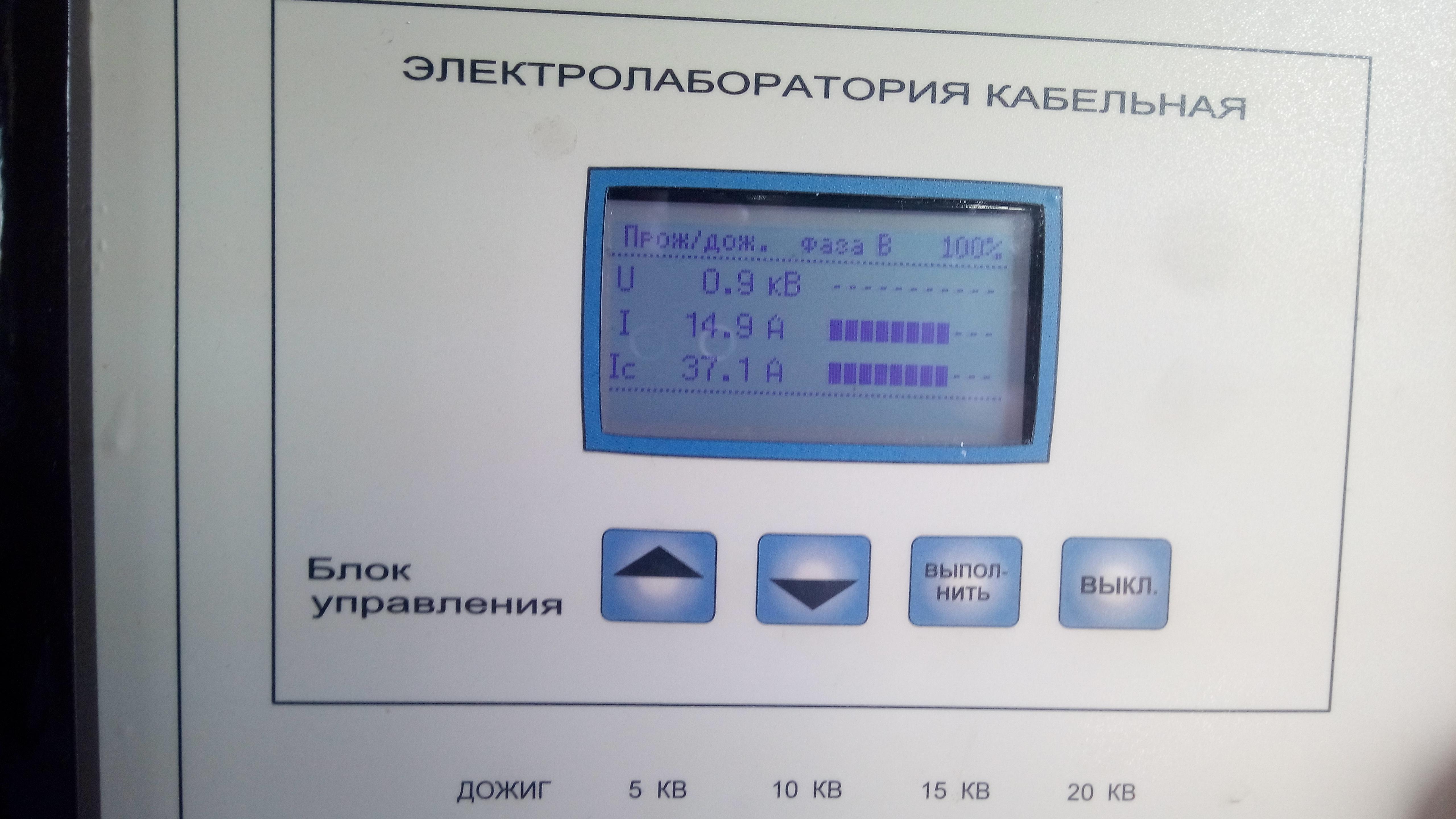 Электрические измерения и испытания